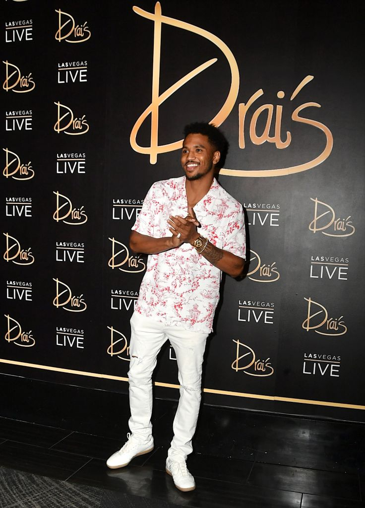 Trey Songz Performs At Swim Night At Drai's Beach Club - Nightclub In Las Vegas