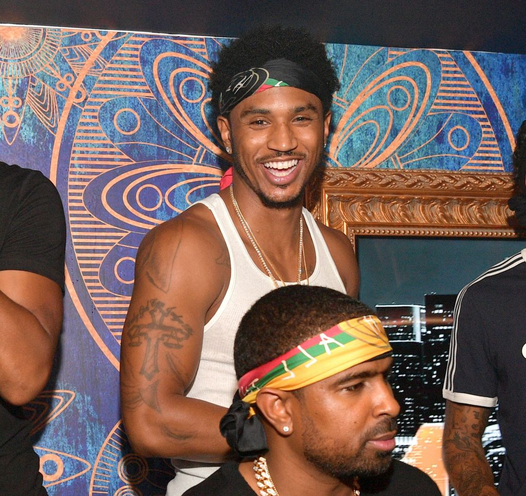Trey Songz Hosts Amora Lounge