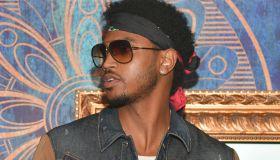 Trey Songz Hosts Amora Lounge