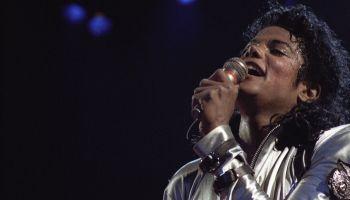 Michael Jackson Performs In Minnesota