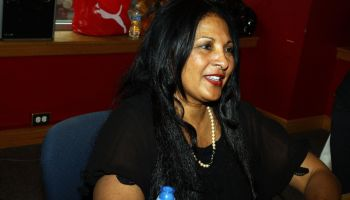 Pam Grier Promotional Tour In Chicago
