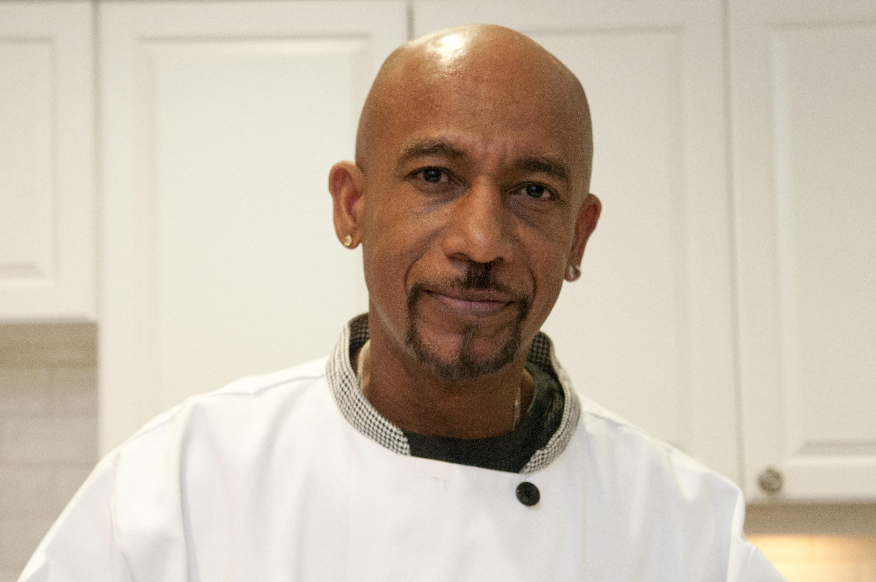 Montel Williams Prepares Annual Holiday Meal For Military Families