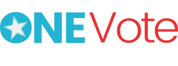 One Vote 2018 Logo Header