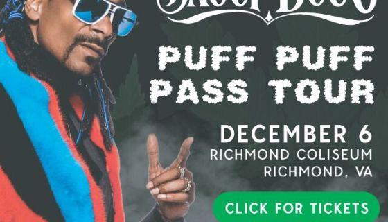 Snoop Doggs Puff Puff Pass Tour 993 1057 Kiss Fm