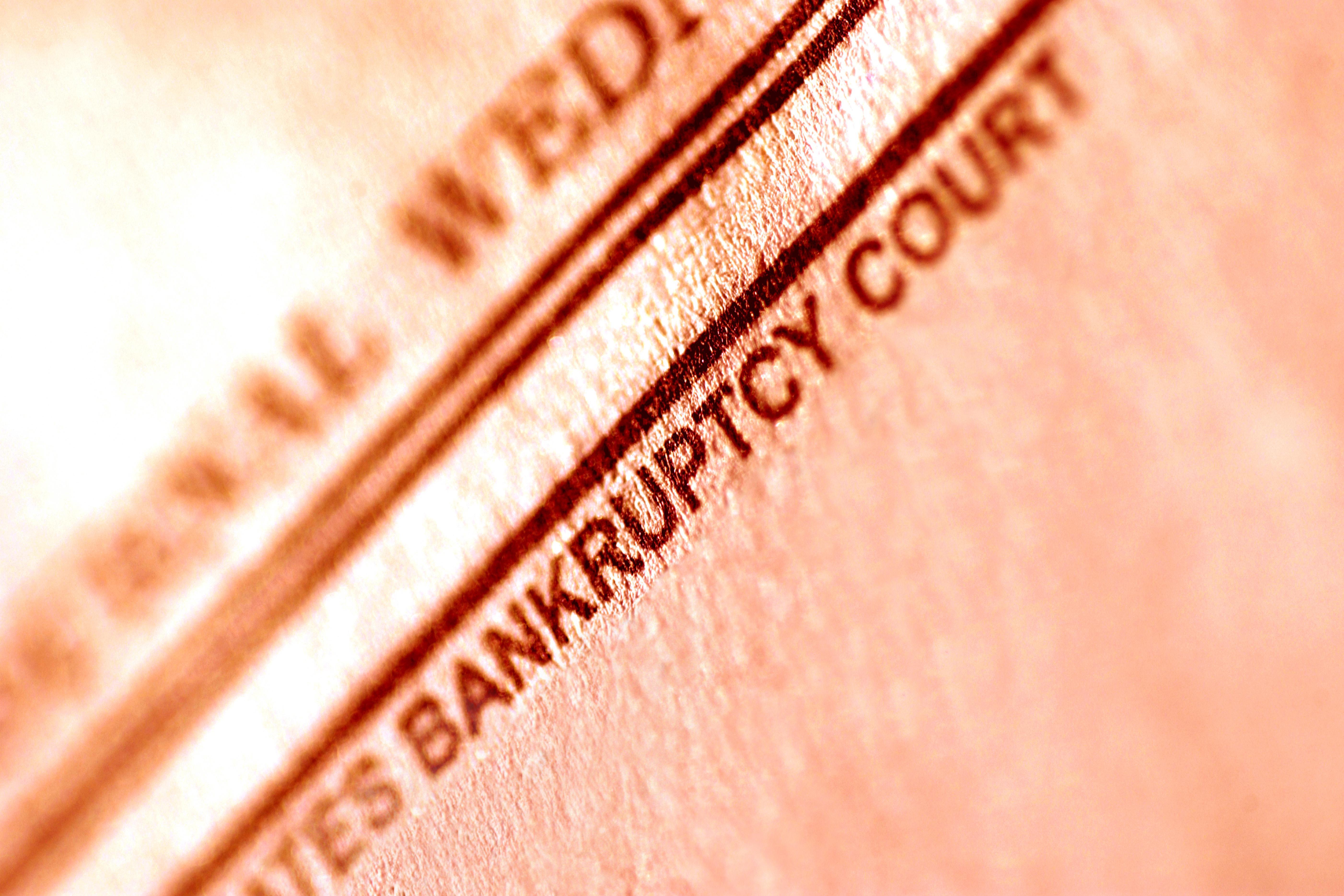 Bankruptcy court letterhead