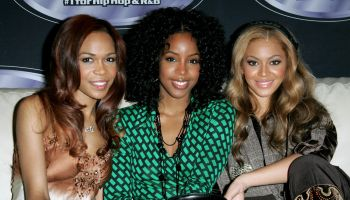 Destiny's Child Stops By Planet Hollywood for Power 105.1's Fan Meet and Greet