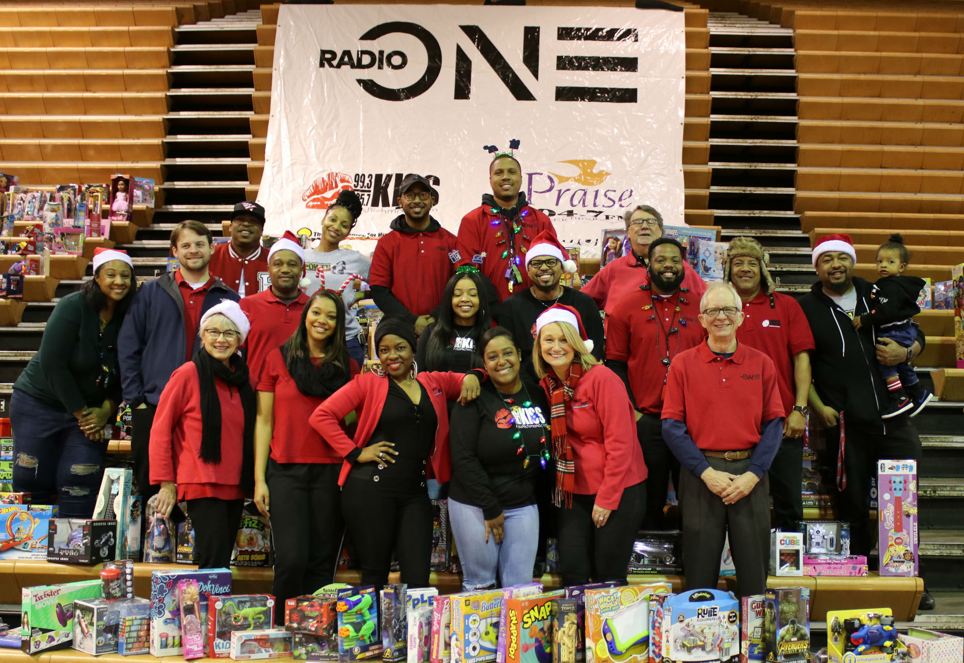 2018 Radio One Toy Drive Distribution