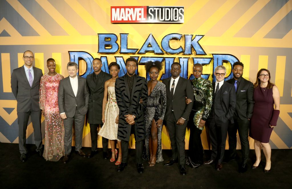 'Black Panther' European Premiere - Arrivals