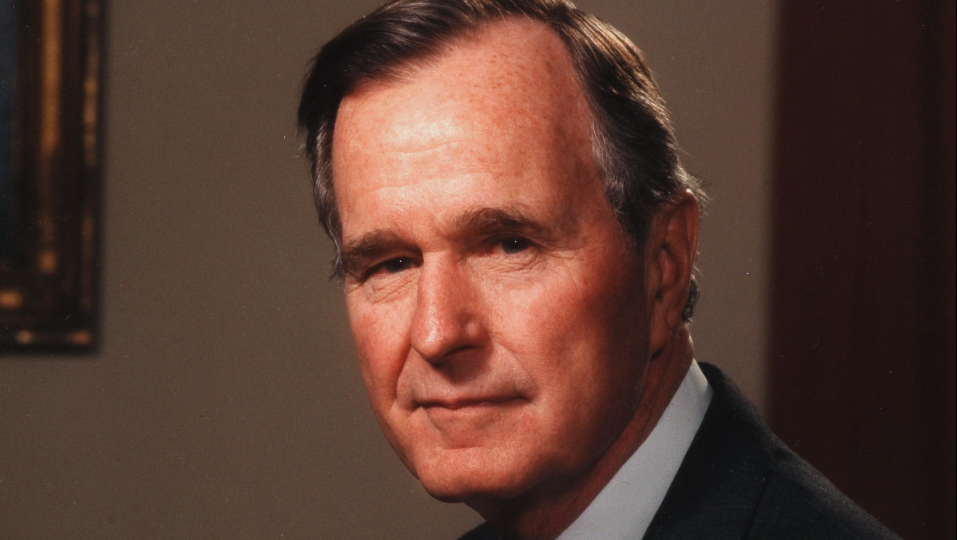 Portrait Of President George Herbert Walker Bush