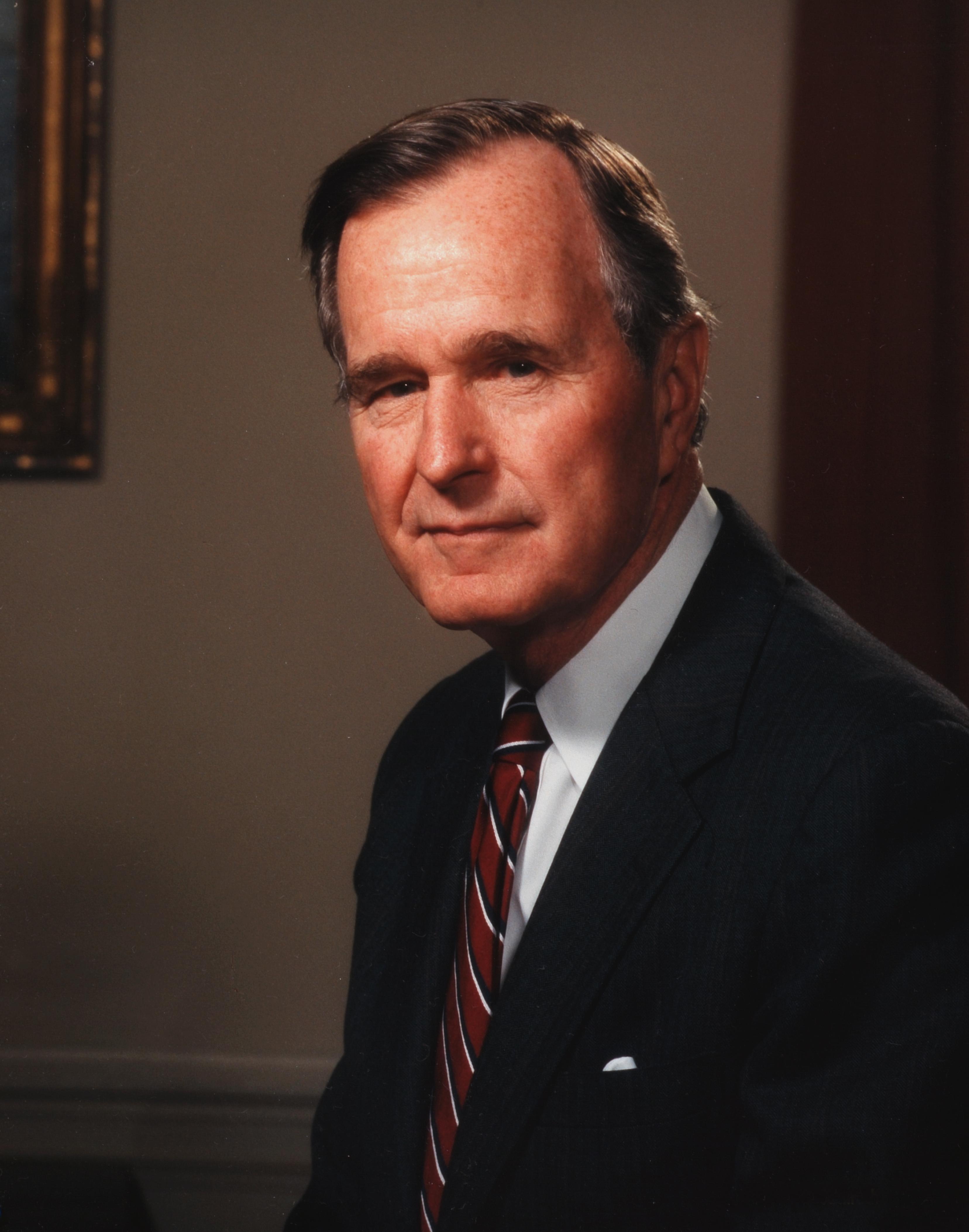 Portrait Of President George Herbert Walker Bush