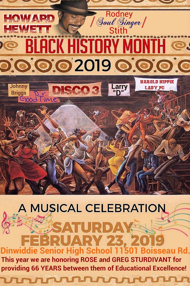 Black History Month a Musical Celebration