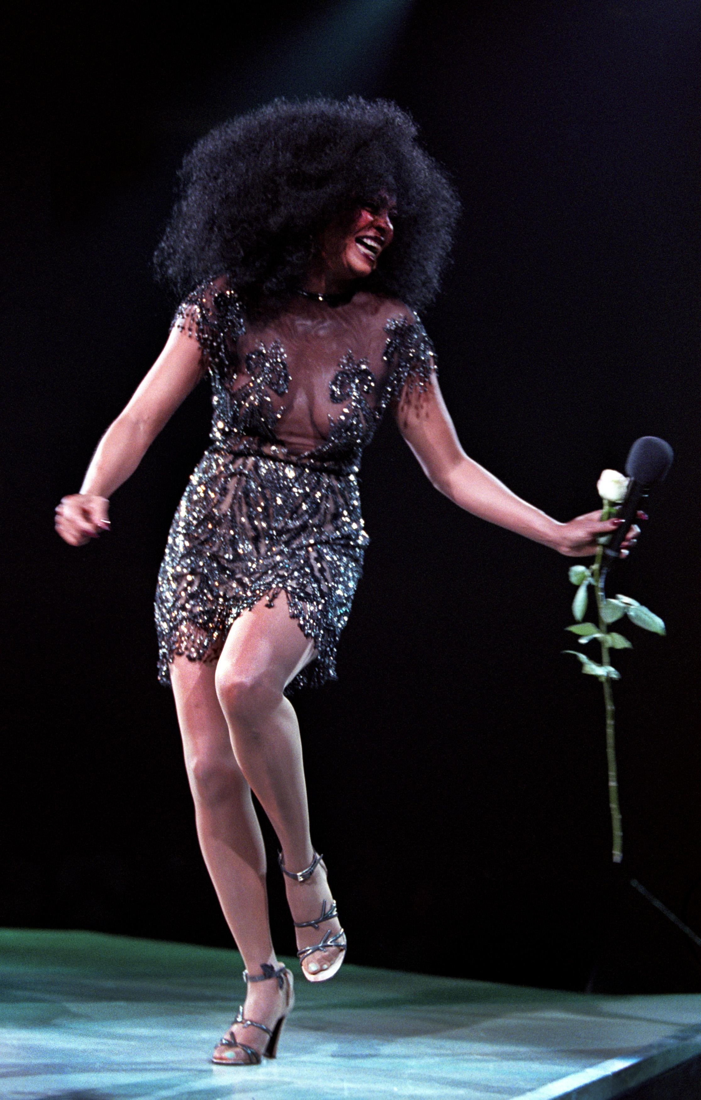 Diana Ross In Rotterdam