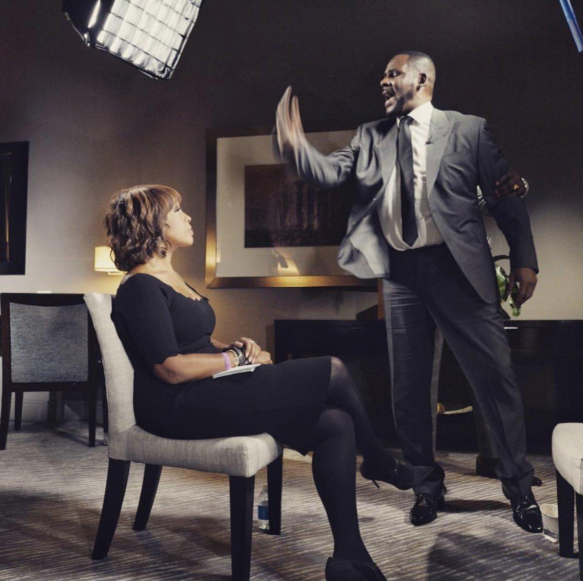 Gayle King interviews R. Kelly