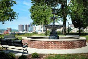 Urban Park Fountain