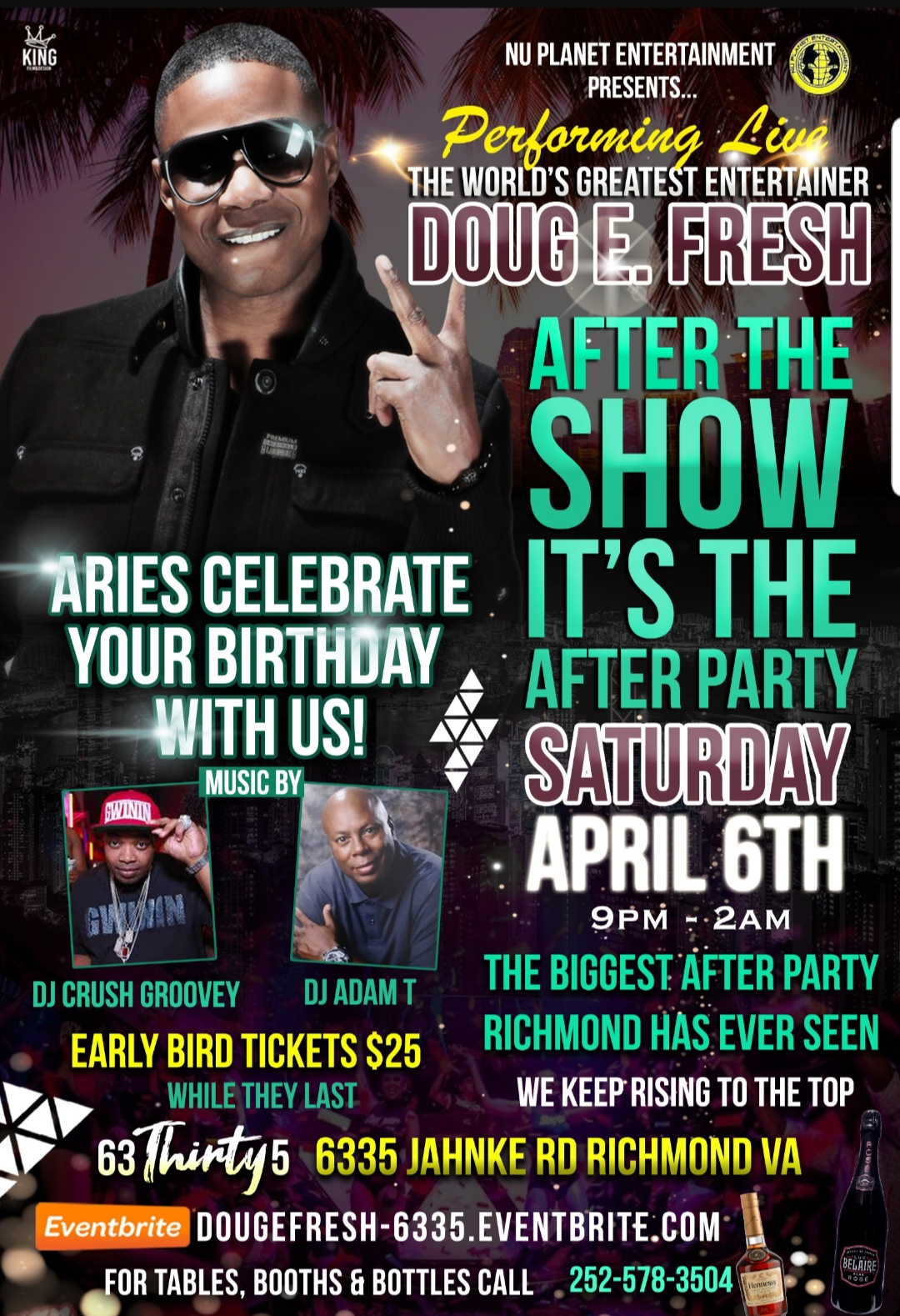 Doug E Fresh After Party