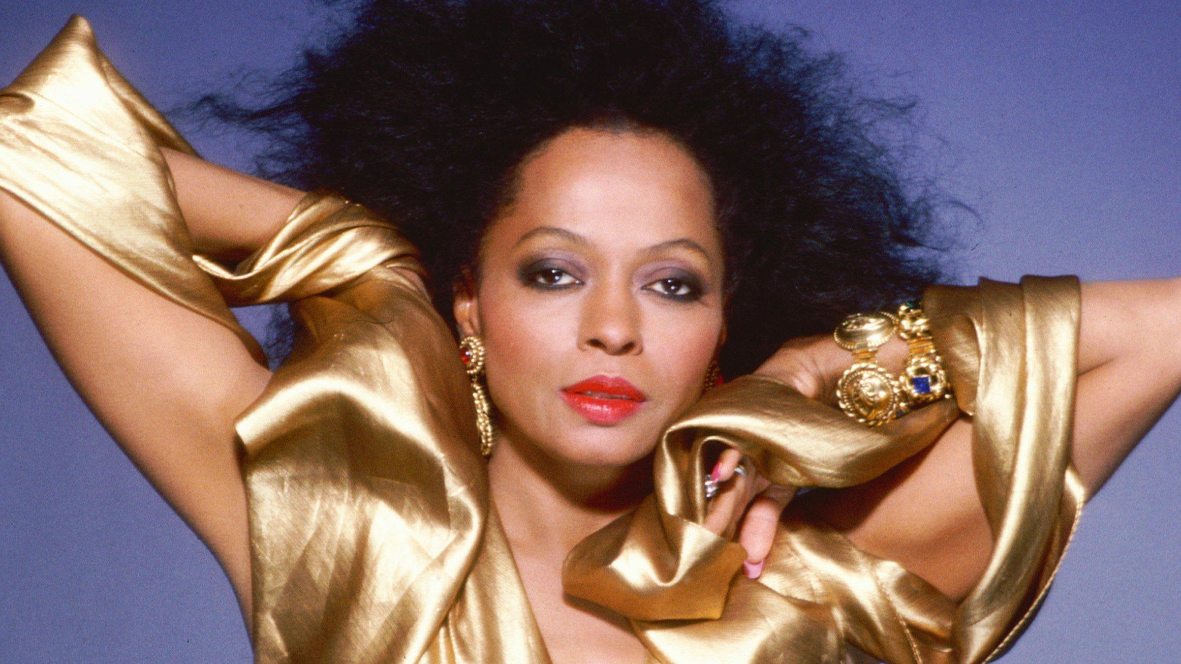 Diana Ross Portrait Session