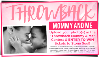 Throwback Mommy & Me Contest_RD Richmond_April 2019