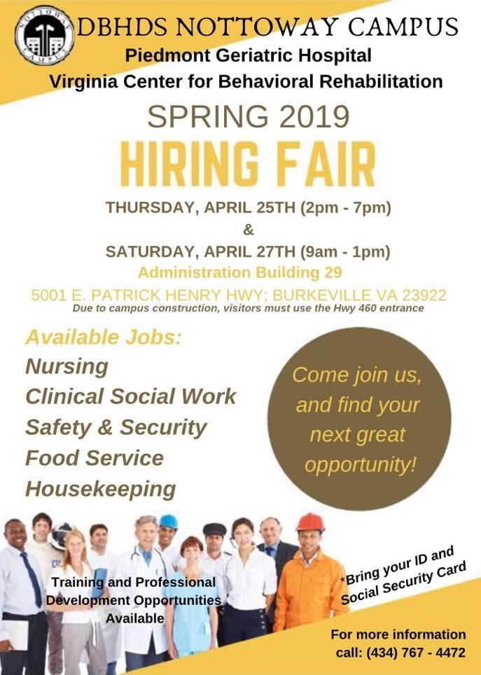 Spring Hiring Fair