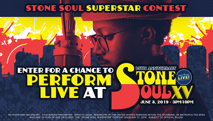 Stone Soul Superstar Contest WCDX/WKJS/WPZZ