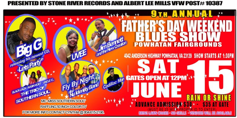 Father's Day Weekend Blues Show