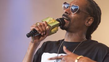 Snoop Dogg performs live