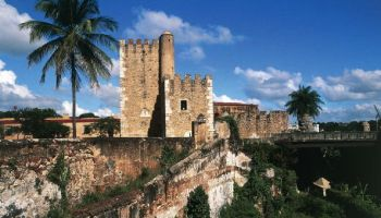 Walls of Colonial City Of Santo Domingo