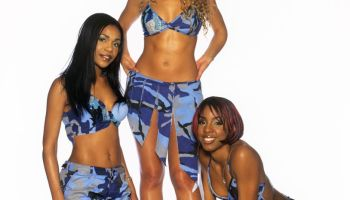 Destiny's Child(v.l. Michelle Williams, Beyonce Knowles, Kelly Rowland)