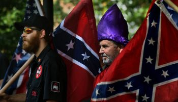 North Carolina Klan Group Protests Civil War Memorial Changes