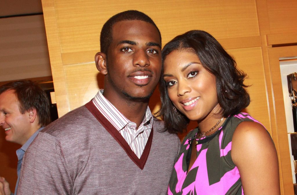 Chris Paul Hosts A Party At The Louis Vuitton Store In New Orleans