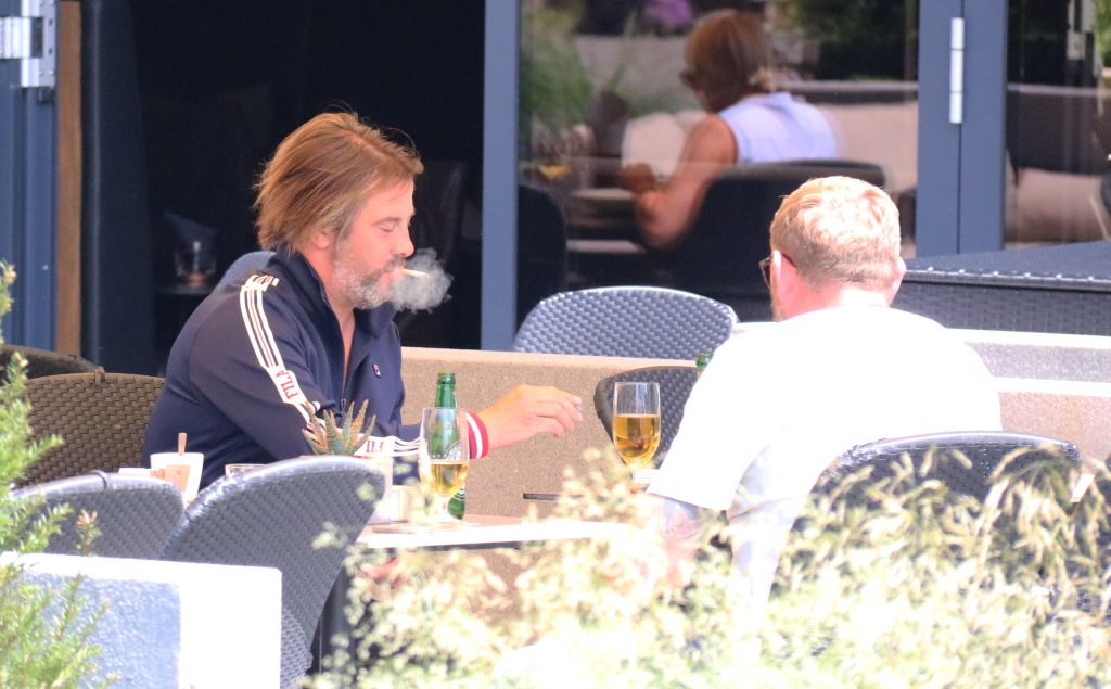 Jamiroquai enjoying a day off in Cologne