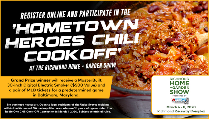 The Chili Cook Off sweepstakes