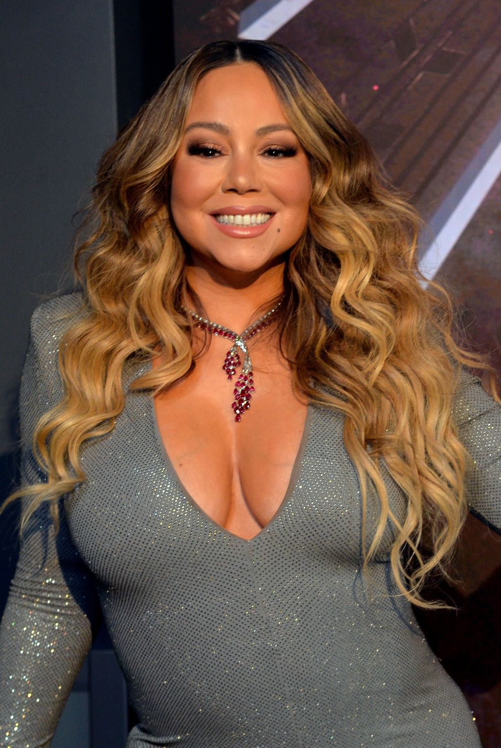 Mariah Carey at a public appearance for...