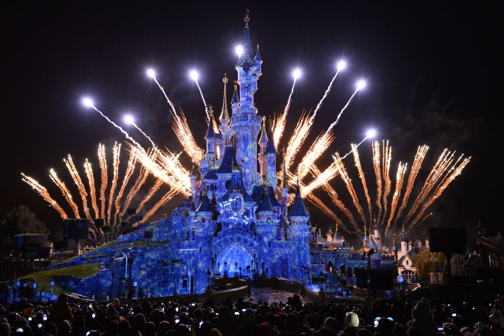 Celebrities enjoy festive fun with their families at the launch of Enchanted Christmas Season at Disneyland Paris
