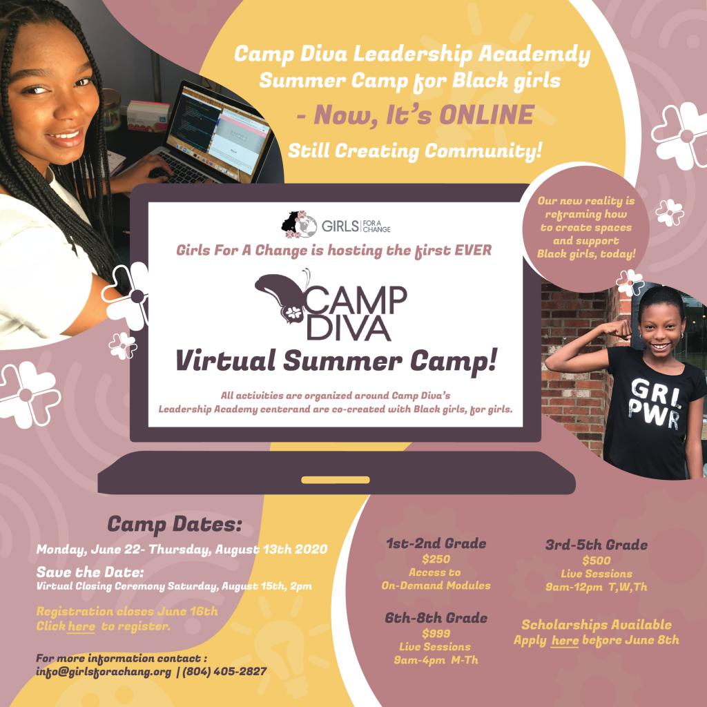 Camp Diva - Virtual Summer Camp