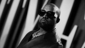 Kanye West Vanity Fair Oscars Party 2020